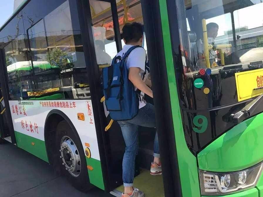 高考期間,考生可免費乘坐安陽公交車