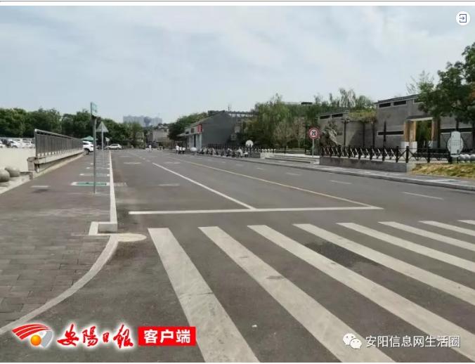 啥情況?安陽老槐樹附近這段路已改為雙向四車道!