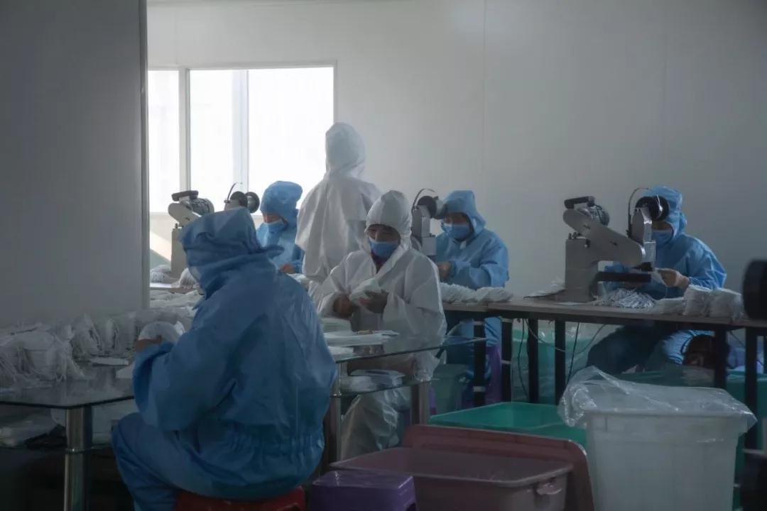 速看!安阳唯一医用口罩生产企业扩建!电力配套工程投运中…